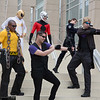 Iron Fist, Ant-Man, Maria Hill, Luke Cage, and Hawkeyes