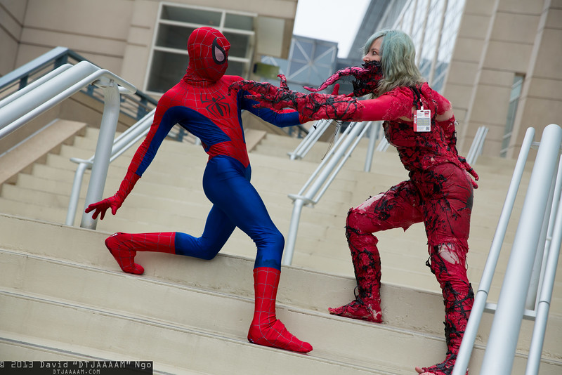 Spider-Man and Carnage