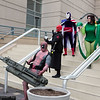 Deadpool, Red Skull, Citizen V, Princess Python, and Dr. Octopus