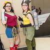 Wonder Woman and Hawkgirl