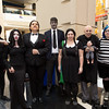 Thing, Morticia Addams, Gomez Addams, Lurch, Wednesday Addams, Fester Addams, Pugsley Addams, and Pubert Addams