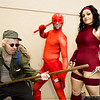 Stick, Daredevil, and Elektra