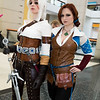 Ciri and Triss Merigold