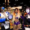 Cyborg, Starfire, and Raven
