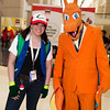 Ash Ketchum and Charizard