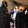 Darth Vader, Stormtrooper, Emperor Palpatine