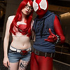 Mary Jane Watson and Scarlet Spider