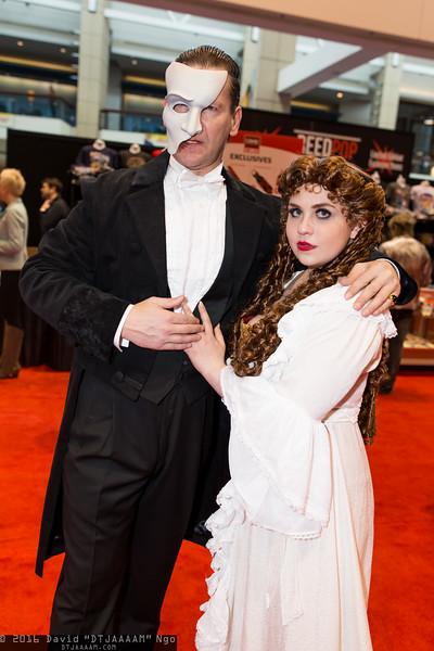 Phantom of the Opera and Christine Daae