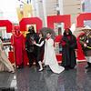 Finn, Emperor's Royal Guard, Darth Vader, Han Solo, Princess Leia Organa, Darth Maul, and Obi-Wan Kenobi