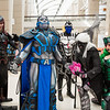 Magneto, Apocalypse, Archangel, Gambit, and Polaris