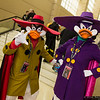 Negaduck and Darkwing Duck