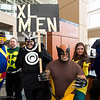 Cyclops, Jamie Madrox, Havok, Wolverine, Rogue, and Beast