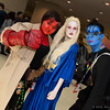 Hellgirl, Nuala Silverlance, and Abe Sapien