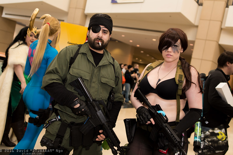 Naked Snake and Quiet