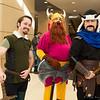 Fandral, Volstagg, and Hogun