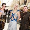 Khal Drogo, Daenerys Targaryen, and Petyr Baelish