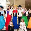 Sailor Mercury, Sailor Mars, Luna, Sailor Moon, Tuxedo Mask, Artemis, Sailor Jupiter, and Sailor Venus