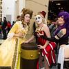 Belle, Harley Quinn, and Psylocke