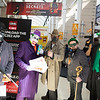 Black Mask, Joker, Bane, Riddler, and Dr. Doom