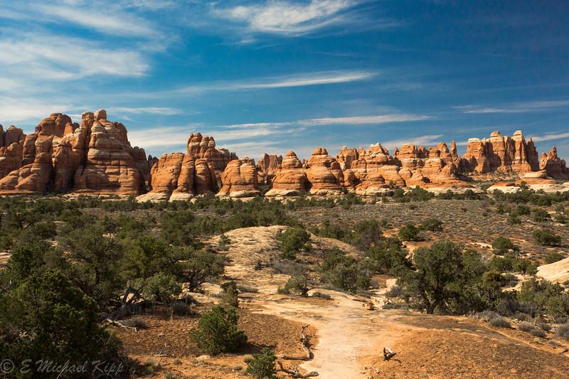 Chesler Park Trail - Canyonlands National Park - Needles District - Utah-6011