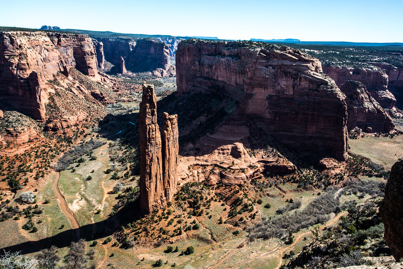 Canyon De Chelly National Monument Arizona - Spider Rock Overlook-5747