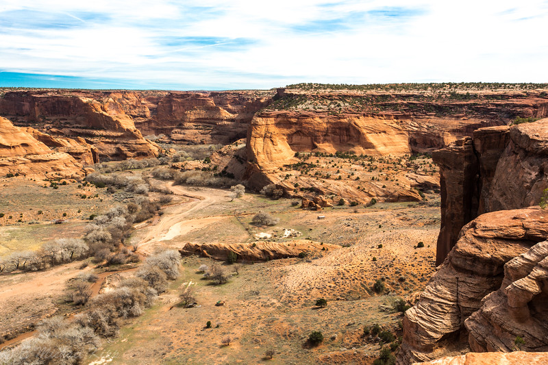 Canyon De Chelly National Monument Arizona - White House Overlook-5810
