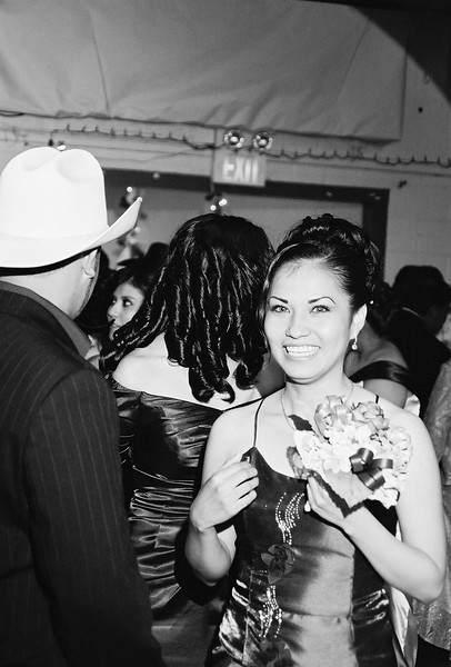 Bridesmaid having a little laugh