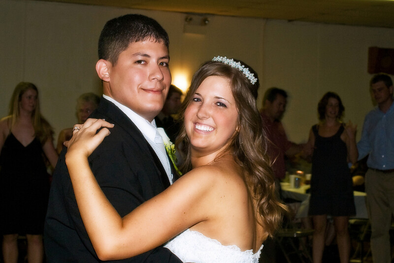 Newlywed's first dance