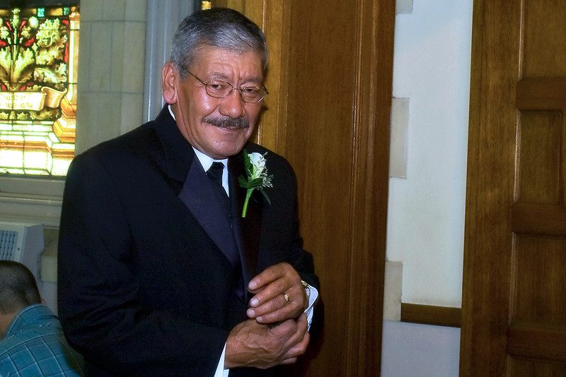 The father of the groom