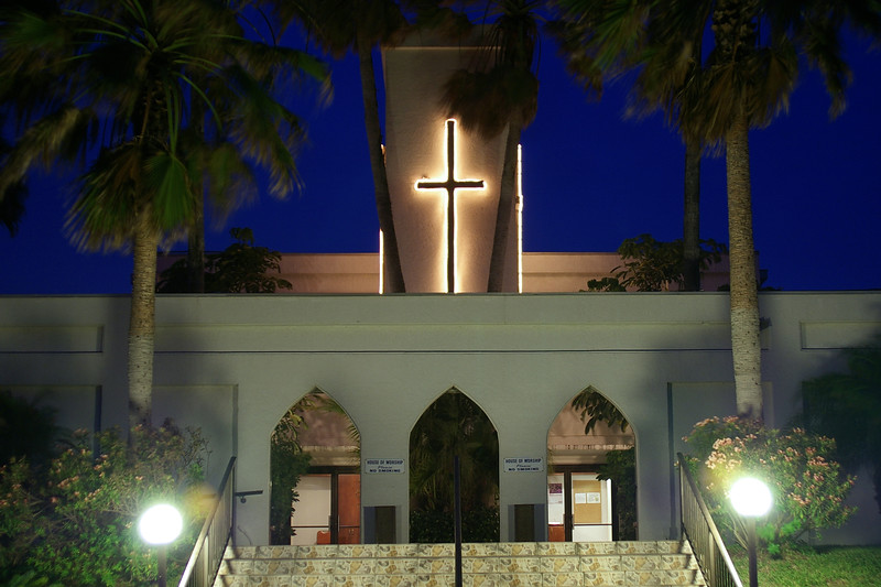 The church, South Padre Island