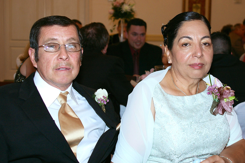 The parents of the bride