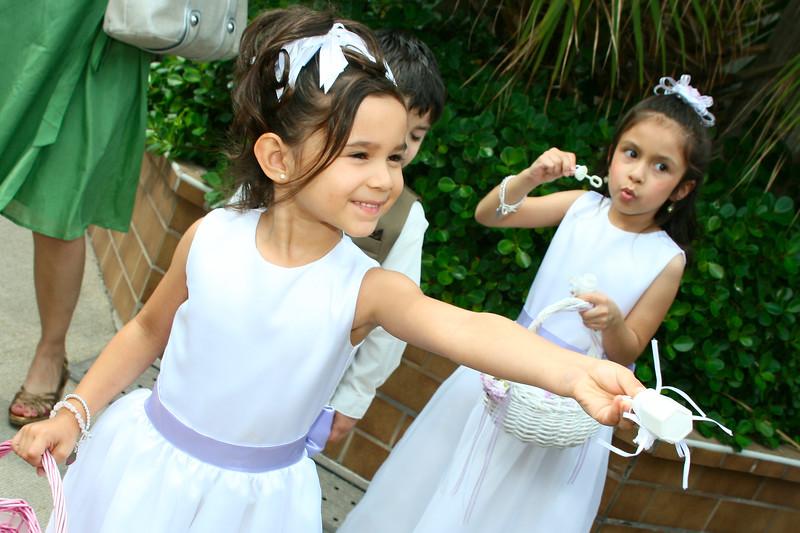 The cutest flower girls
