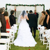 View from the back of the ceremony