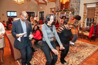 CAABJ 2015 Christmas Party @ Berewick Manor House 12-19-15