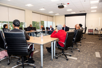 CAABJ Chapter Meeting - Guest Matt King & Rob Dwyer WCNC @ Goodwill Opportunity Campus 11-16-19 by Jon Strayhorn