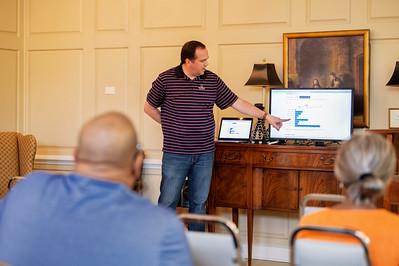 CAABJ Chapter Meeting @ Trinity Presbyterian Church 8-17-19 by Jon Strayhorn