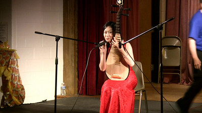 Chinese Instrument Performance: Pipa 琵琶 6/20/2009