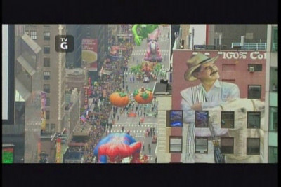 Macy's Parade Route Fly-Over