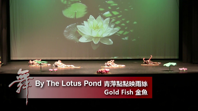 14. By The Lotus Pond《青萍點點映雨絲》<br /> <br /> An Enchanted Evening of Dance<br /> CACC & Fairfax Chinese Folk Dance Troupes<br /> 8/20/2011 Fairfax, VA