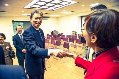 Taiwanese Ambassador Visit 6/12/2014