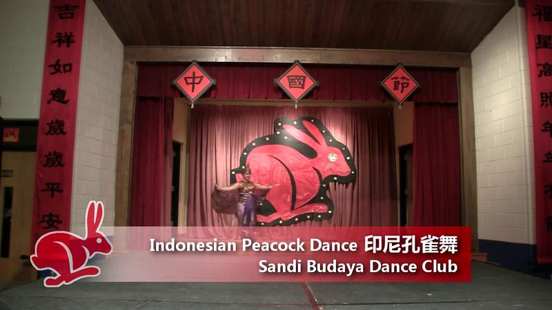 Indonesian Peacock Dance 印尼孔雀舞<br /> by Sandi Budaya Dance Club<br /> CACC Chinese Festival 6/19/2011