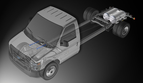 CAD Fuel System Renderings