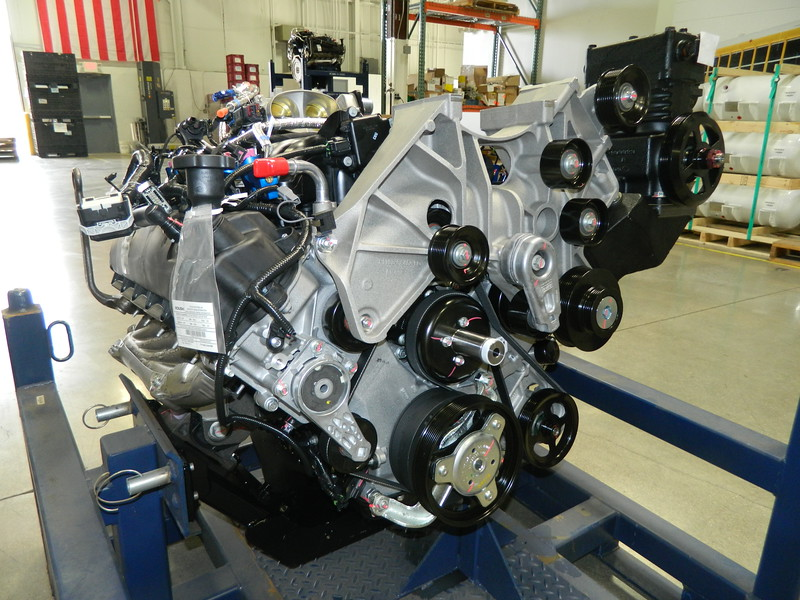 ROUSH CleanTech has developed the first available propane autogas engine certified to California Air Resources Board's optional ultra-low NOx emissions standard.