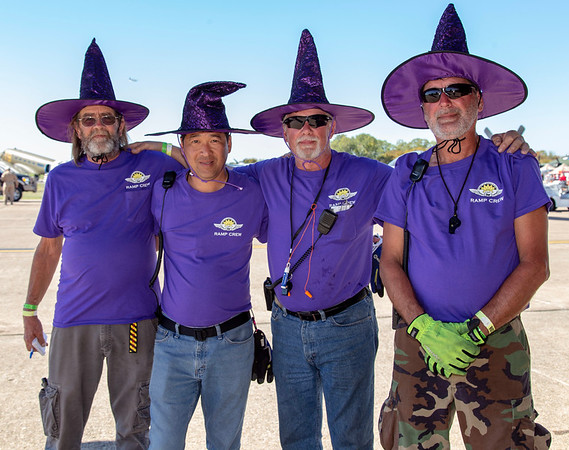 """CAF """"Ramp Wizards"""" on duty."""