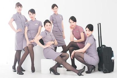 華航制服團拍