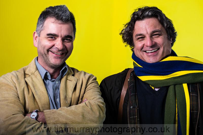 Simon Thorp and Graham Dury