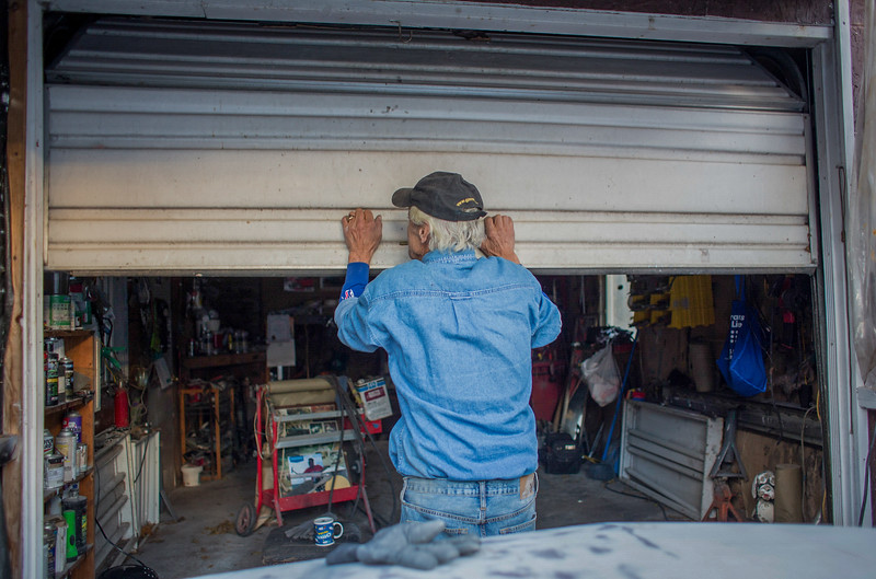 "November 14, 2016. ""I like to give myself breaks when working on a car,"" Dominick says, ""Then I can come back to it with a fresh mind and the motivation to finish the project.""<br /> Dominick DeSantis, 69, refurbishes cars at his home garage in Kirkville, N.Y. DeSantis acquired a permit to work on cars in his garage after working at a four car garage down the road. Neighbors around the small town always come to DeSantis for car repair because of his lower prices."