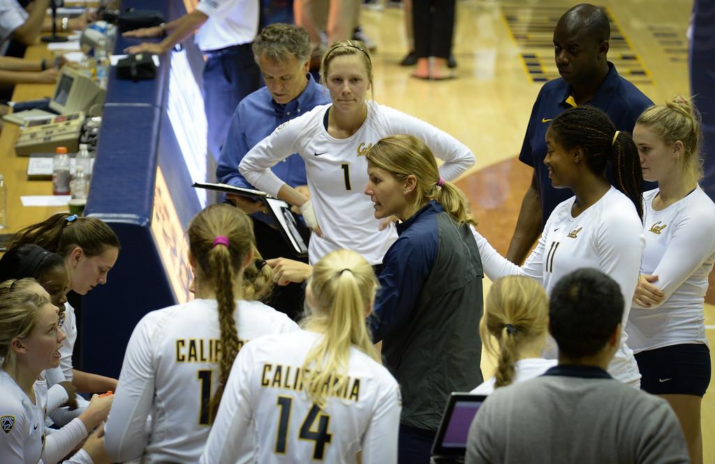 2014 Cal Voleyball vs UCSB