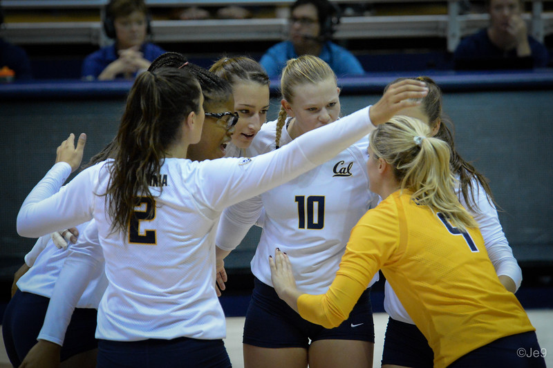 2015-09 Cal VB vs UCLA (Close-ups & Jumbo tron)-27