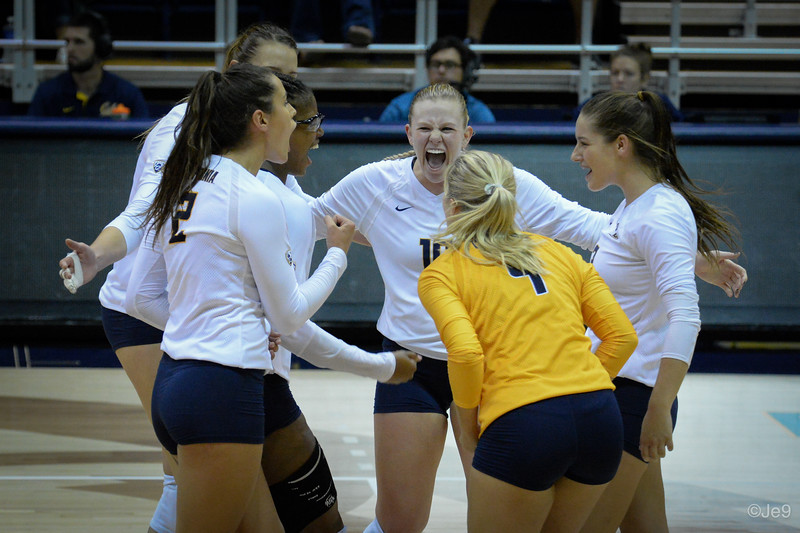2015-09 Cal VB vs UCLA (Close-ups & Jumbo tron)-29